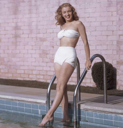 Marilyn Monroe, then Norma Jean, in 1946.