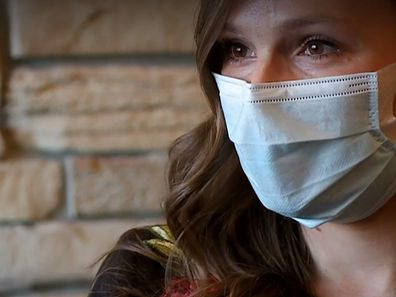 The couple's granddaughter, Lindsey Hawkins, has been working with a COVID-19 vaccination team during the pandemic.