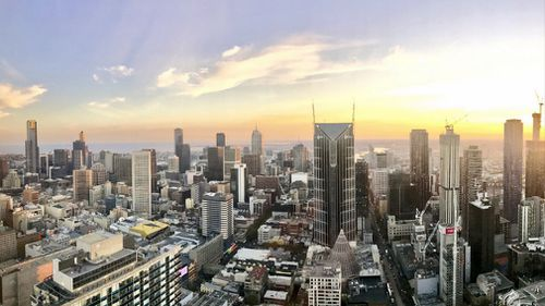 Melbourne has been declared the most liveable city in the world seven years running. (Sean Davidson / 9NEWS)