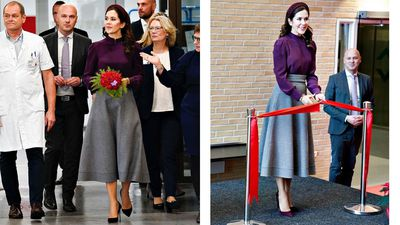 Princess Mary opens new emergency centre, December 2019