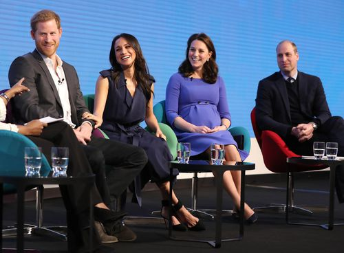 """The """"Royal Fab Four"""" at Aviva in London. (AAP)"""
