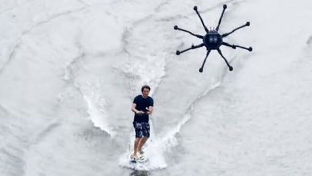 Could dronesurfing become the next big thing on water?