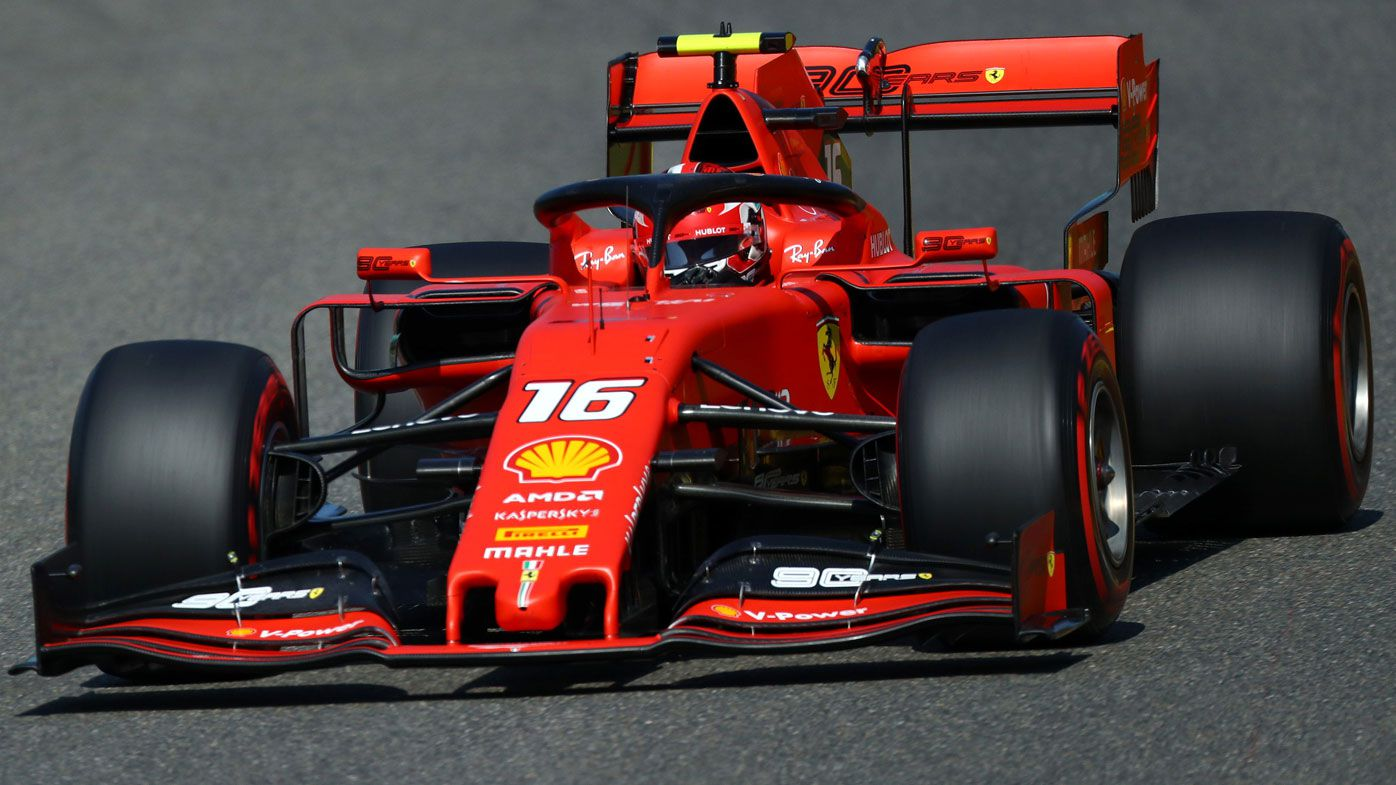 Charles Leclerc on pole for Belgian GP as Ferrari locks-out front row
