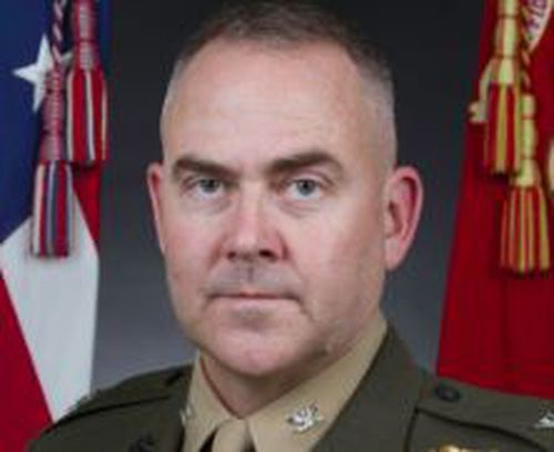 Colonel Schnelle, who has served more than 25 years in the US Marine Corps, was stood down from duties while the court matter proceeds.