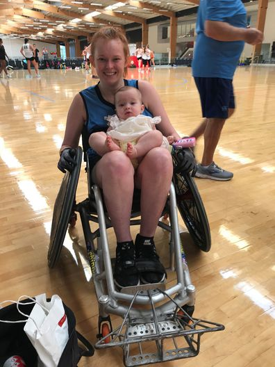 Chloe Kennedy spinal injury playing sport