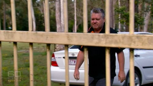Tiahleigh's killer, her foster father Rick Thorburn. (60 Minutes)