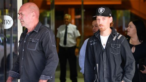 "The judge today said Olsson's horrific actions have wrought ""lifelong"" devastation on the family. (AAP)"