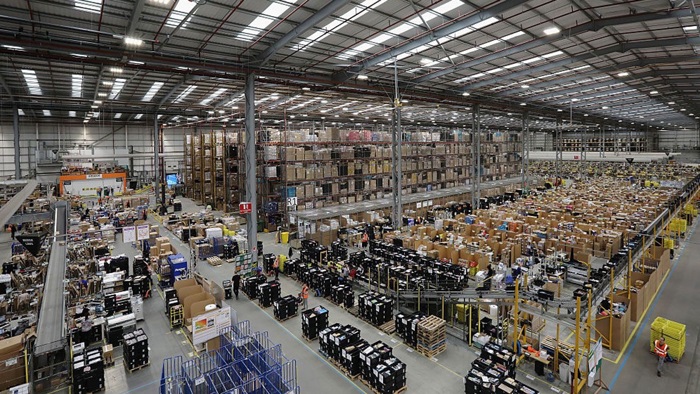 Amazon in Australia: First photos of employees working at