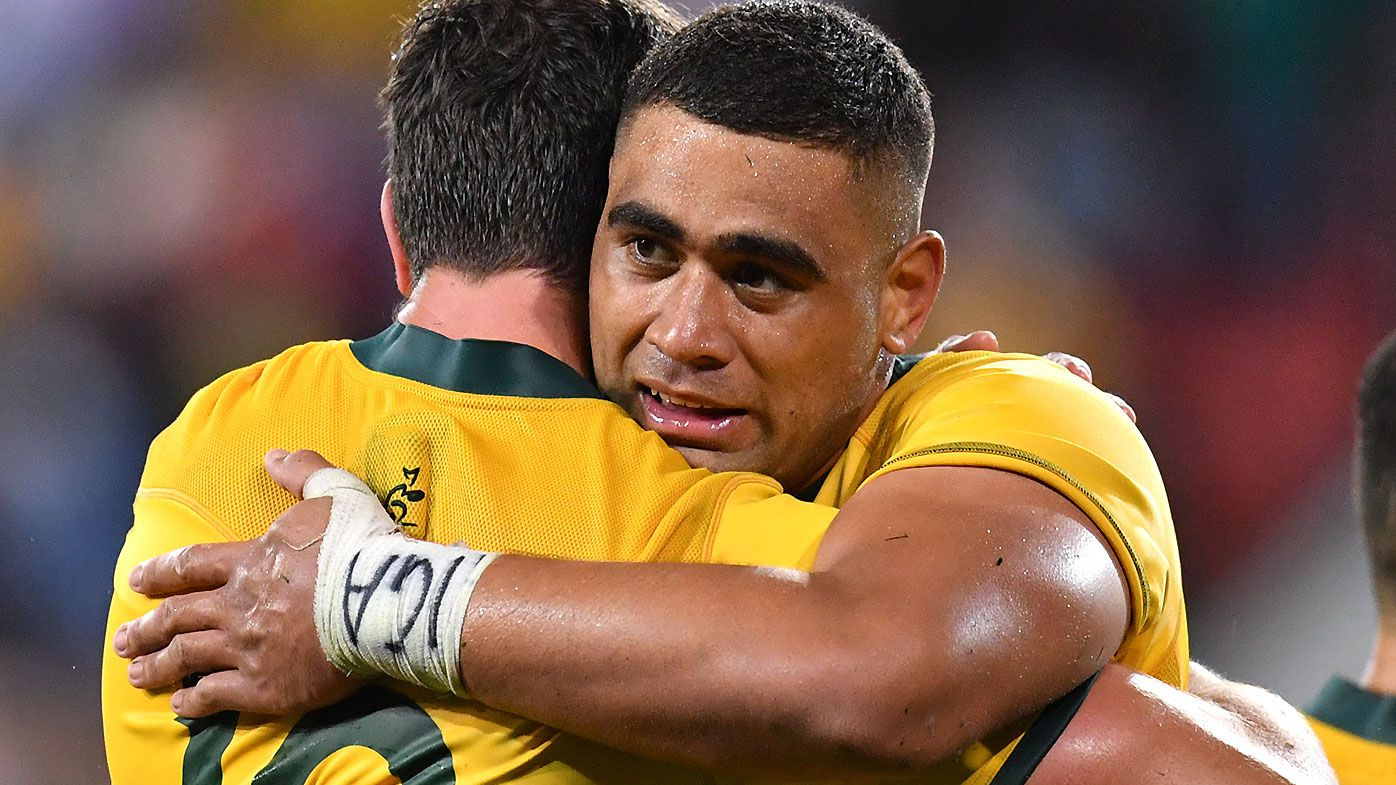 Grieving Wallabies star Lukhan Tui was told to play with 'some heart' by fan after losing stepfather