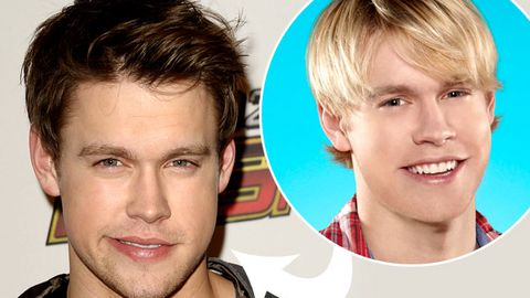 Glee: Chord Overstreet cut his hair too