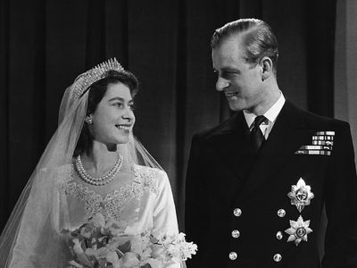 Prince Philip and Queen Elizabeth, 73 years