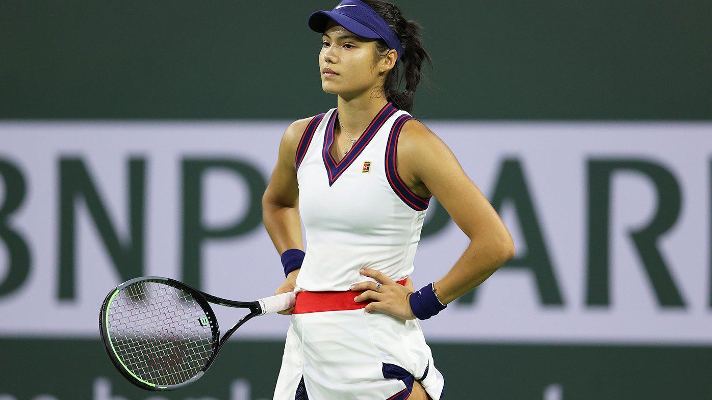 'I'm still so new to everything': US Open champ Emma Raducanu upset at Indian Wells