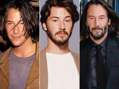 Keanu Reeves Hair Evolution