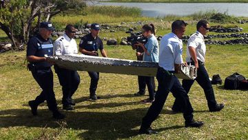<p>A mysterious piece of plane debris has washed up on the French Indian Ocean island of La Reunion, prompting teams of international investigators to examine whether it could be part of the missing Malaysia Airlines flight MH370.</p>