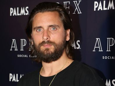 Television personality Scott Disick arrives at Apex Social Club at Palms Casino Resort on July 27, 2018 in Las Vegas, Nevada.
