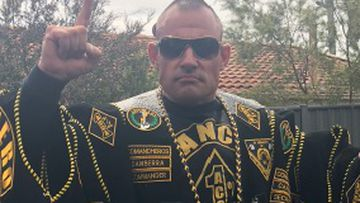 A jury has been shown social media posts of former bikie boss Peter Zdravkovic, that prosecutors claim provoked an attempt on his life.