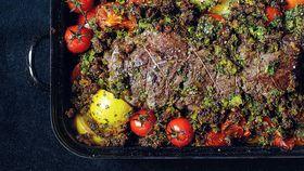Roast beef à la provençal
