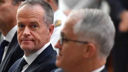 Opposition Leader Bill Shorten (left) was a signatory to an entreaty sent to the Prime Minister yesterday (Image: AAP)