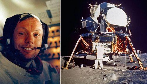 Apollo 11 commander Neil Armstrong and the 1969 Moon landing. (AP photos).