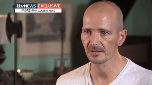 British Novichok poisoning victim Charlie Rowley has revealed for the first time how rapidly the deadly nerve agent took its effect. Picture: ITV News.