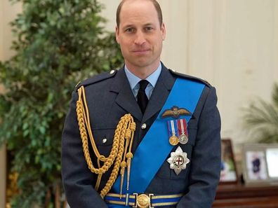 Prince William dons RAF uniform to deliver heartfelt message for Royal Australian Air Force Centenary