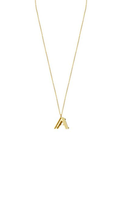 <p>The 'Carrie' necklace 2.0.</p>