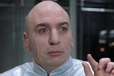 Constantly setting impossible tasks for his employees, Dr. Evil kills his staff when they fail to deliver. All with a camp pun and a flick of the pinky.