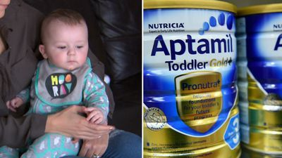 Allergic baby's mum slams 'filthy rich' formula buyers