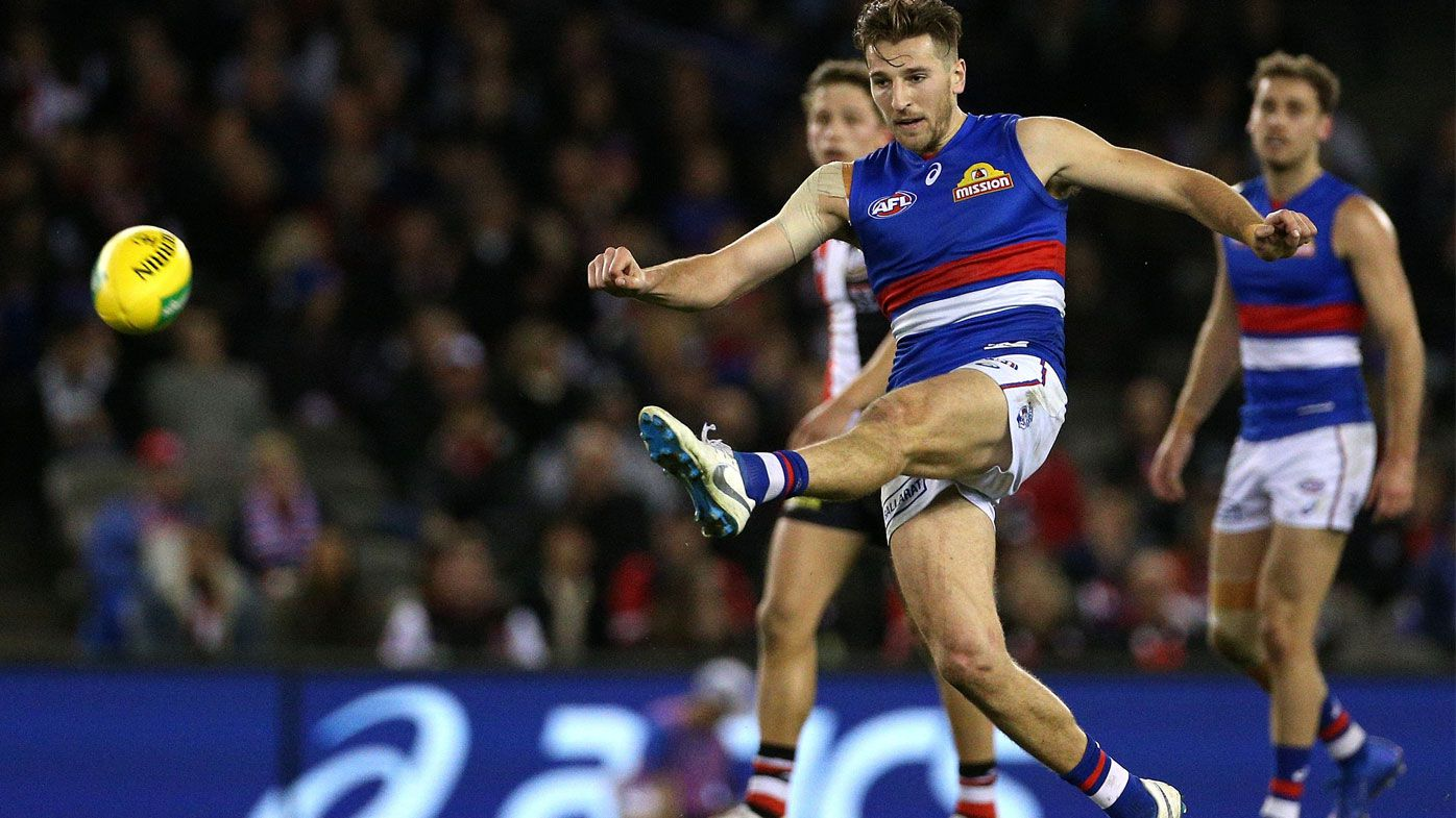 Bulldogs storm past sorry Saints in AFL