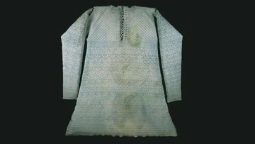 King Charles I was wearing this shirt when he was beheaded.