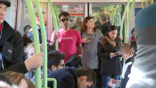 Overburdened: experts have warned politics must be put aside in order to prevent Melbourne's transport system from derailing. (9NEWS)