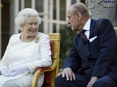 Prince Philip and the Queen at an engagement