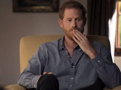 Prince Harry Oprah mental health series