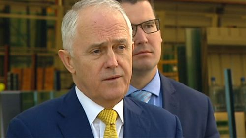 "Prime Minister Malcolm Turnbull says the Coalition inherited a ""mess"" from Labor on the NBN."