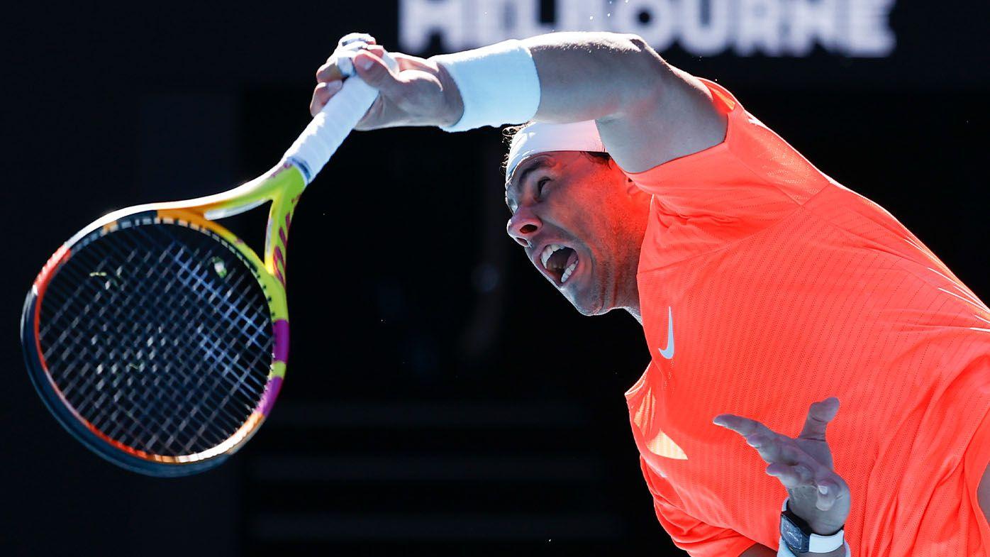 Rafael Nadal breezes through first round of Australian Open
