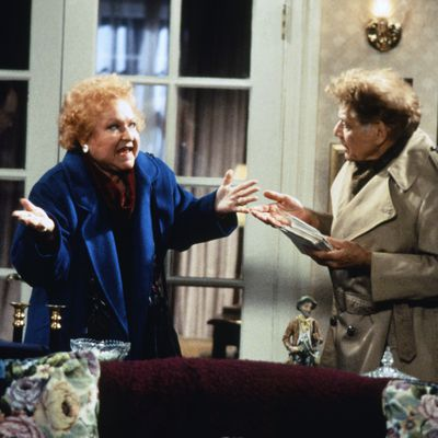 Estelle Harris and Jerry Stiller: 1990s
