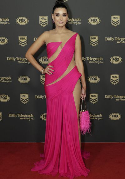 Monisha Lew-Fatt at the 2019 Dally M Medal