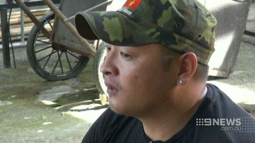 Andrew Chan. (9NEWS)