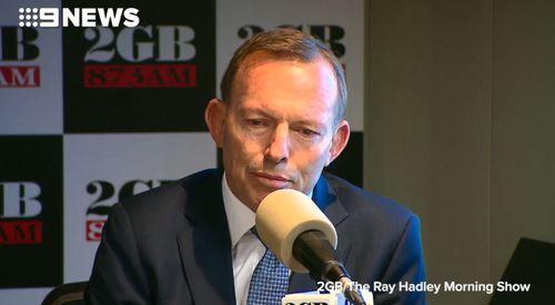 Tony Abbott said Malcolm Turnbull has failed the test he has set himself.