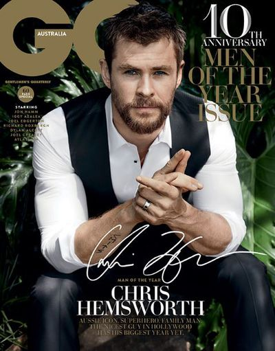 <p><strong>8.&nbsp;</strong></p> <p>The positives of this <em>GQ</em> Australia cover is Chris Hemsworth with his clothes on. The negative? Chris Hemsworth with his clothes on.</p>