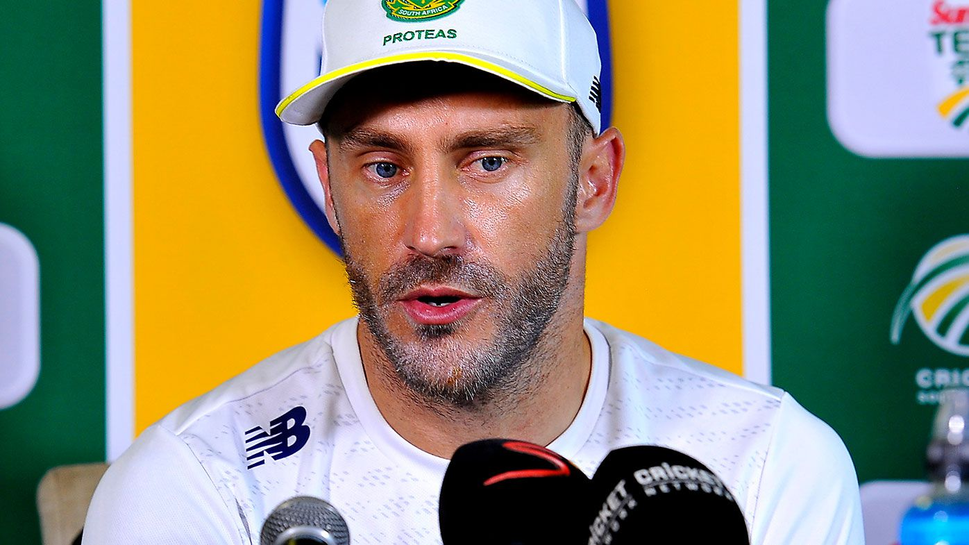 Faf fired up about ICC disciplinary system