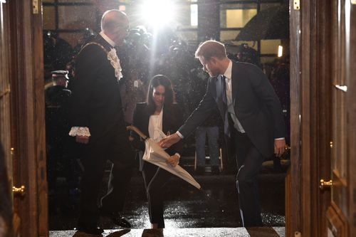 Harry and Meghan will be married in May at Windsor Castle. Picture: AAP