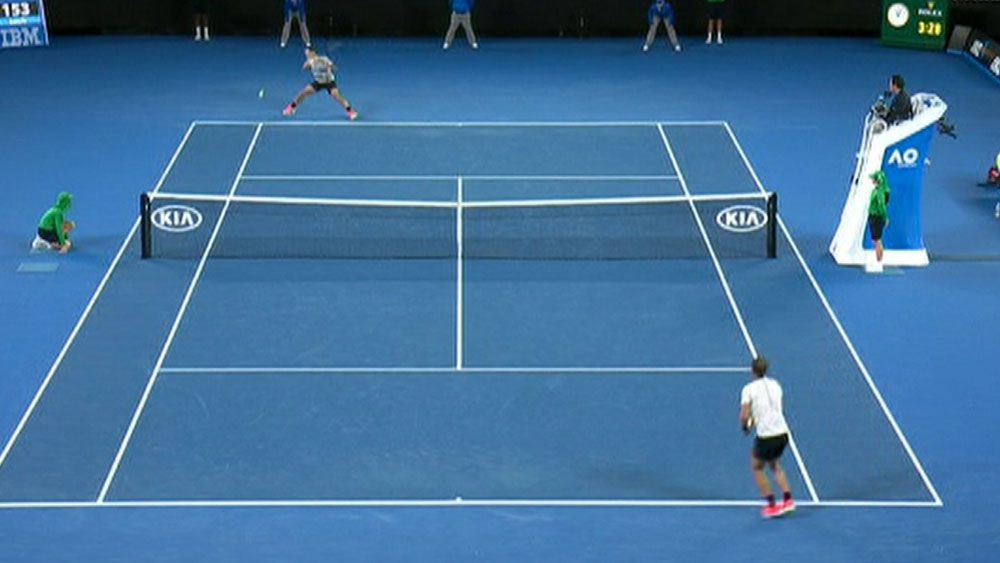 Insane rally decides Australian Open