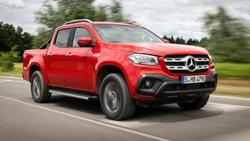 Mercedes-Benz X350d. Picture: Supplied.