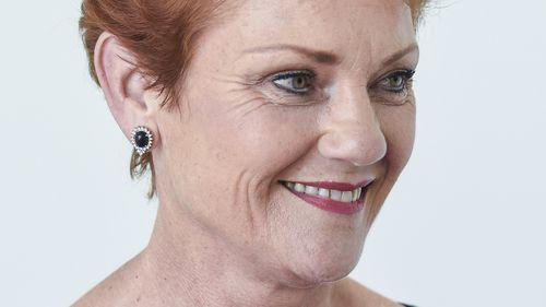 Pauline Hanson. (AAP)