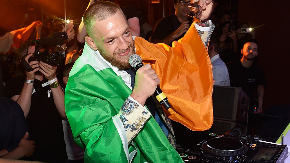 Conor McGregor and Floyd Mayweather party with fans and celebrities after momentous boxing match