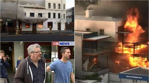 Man charged with arson of Melbourne pub