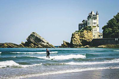 3. Cote des Basques, Biarritz, France<br /> 1,133,618 hashtags