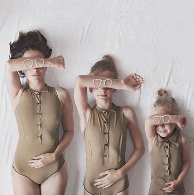 """This is Dominique and her two daughters. Dominique is a <a href=""""https://www.allthatisshe.com/"""" target=""""_blank"""" draggable=""""false"""">lifestyle blogger</a>based in the UK and she loves fashion, being a mama and Adobe Photoshop tricks.One day, Dominique unintentionally dressed herself and little Penny, four, in matching striped tops then Amelia, 11, emerged from her bedroom wearing one two.Dominique and her girls had a good chuckle about it, snapped an image  and posted it on  Instagram  with the hashtag <a href=""""https://www.instagram.com/explore/tags/allthatisthree/"""" target=""""_blank"""" draggable=""""false"""">#allthatisthree</a>.Since then, Dominique has been featured by Instagram five times in the last nine months and she's created more and more  sweet All That Is Three triple treats. Swipe through to find your favourite ..."""