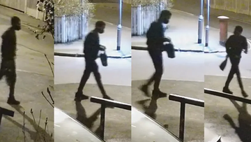 Officers investigating the disappearance of Richard Okorogheye have released pictures of the CCTV footage.